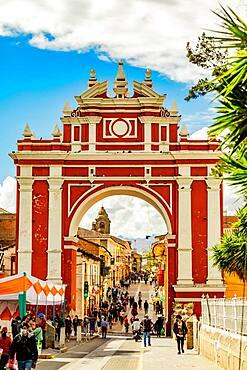 Arco de Triunfo, Ayacucho, Peru, South America