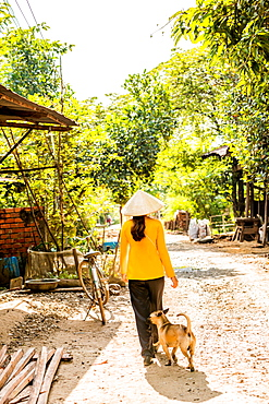 Village life, Vietnam, Indochina, Southeast Asia, Asia