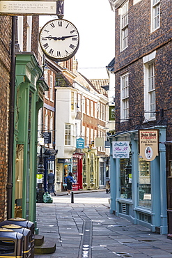 Minster Gate, York, North Yorkshire, England, United Kingdom, Europe - 1226-1022