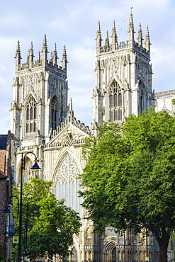 York Minster, one of the largest medieval cathedrals in Europe, York, North Yorkshire, England, United Kingdom, Europe - 1226-1042