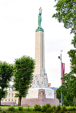 Freedom Monument, Riga, Latvia, Europe