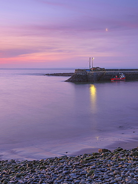 Kilbaha Bay, County Clare, Munster, Republic of Ireland, Europe