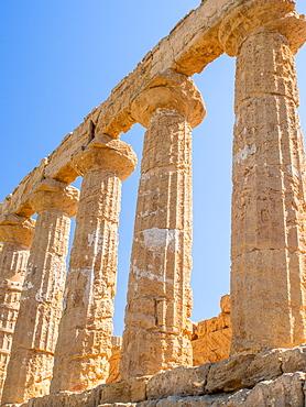 Greek ruins of Agrigento, UNESCO World Heritage Site, Sicily, Italy, Europe