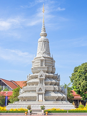 Tomb of a Cambodian king, Phnom Penh, Cambodia, Indochina, Southeast Asia, Asia