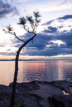 Lake Champlain, Burlington, Vermont, New England, United States of America, North America