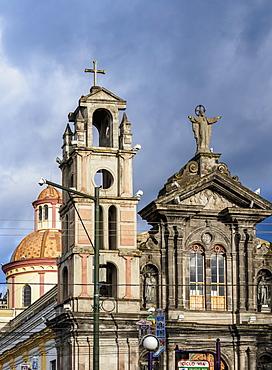 Jordan Church, Otavalo, Imbabura Province, Ecuador, South America