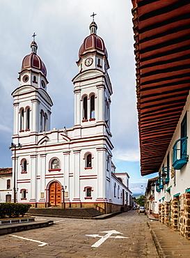 Nuestra Senora de Mongui Church, Charala, Santander Department, Colombia, South America