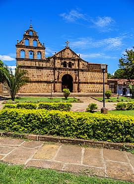 Santa Lucia Church, Guane, Santander Department, Colombia, South America