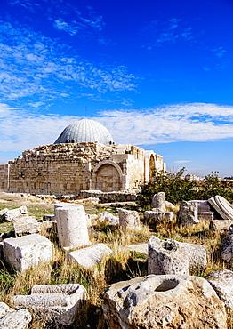 Umayyad Palace, Amman Citadel, Amman Governorate, Jordan, Middle East