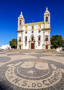 Carmo Church, Largo do Carmo, Faro, Algarve, Portugal, Europe