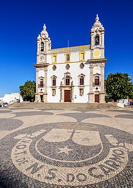 Carmo Church, Largo do Carmo, Faro, Algarve, Portugal, Europe
