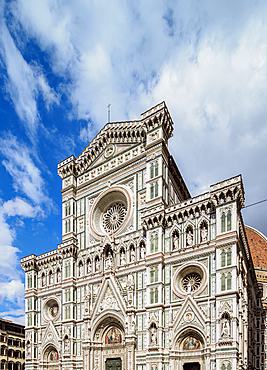 Santa Maria del Fiore Cathedral, Florence, UNESCO World Heritage Site, Tuscany, Italy, Europe