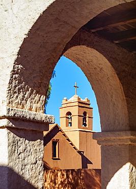Church in San Pedro de Atacama, Antofagasta Region, Chile, South America