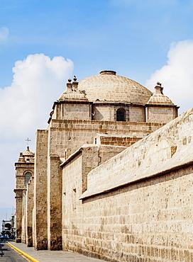Santa Catalina Church, part of the Monastery, UNESCO World Heritage Site, Arequipa, Peru, South America