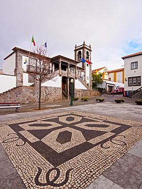 Town Hall, Praia da Vitoria, Terceira Island, Azores, Portugal, Atlantic, Europe