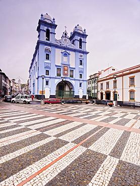 Misericordia Church, UNESCO World Heritage Site, Angra do Heroismo, Terceira Island, Azores, Portugal, Atlantic, Europe