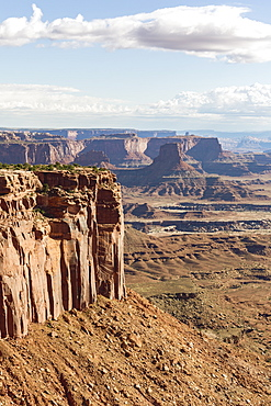 Rock formations in Canyonlands National Park, Moab, Utah, United States of America, North America