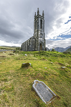 Old Church of Dunlewey, County Donegal, Ulster, Republic of Ireland, Europe