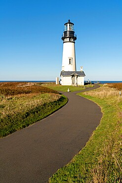 Yaquina Head Lighthouse, Newport, Lincoln county, Oregon, United States of America, North America