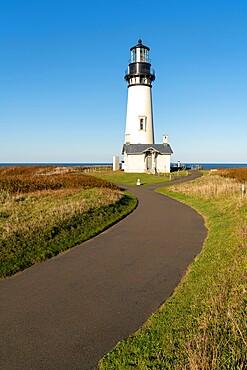 Yaquina Head Lighthouse, Newport, Lincoln county, Oregon, United States of America, North America