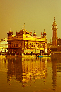The Golden Temple of Amritsar, Punjab, India, Asia