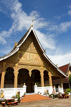 Wat May Temple, Luang Prabang, Laos, Indochina, Southeast Asia, Asia