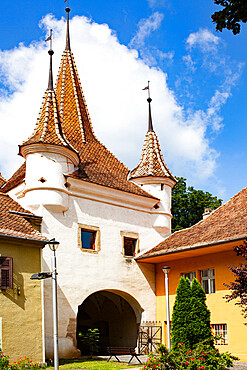 Council Square, Old town square in Brasov, Romania