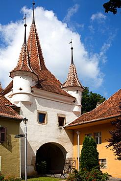 Beautiful medieval city of Brasov, Transylvania, Romania, Europe