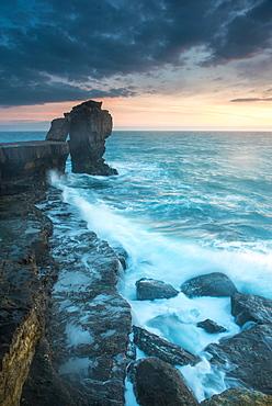 Pulpit Rock, Portland Bill, Isle of Portland, Jurassic Coast, UNESCO World Heritage Site, Dorset, England, United Kingdom, Europe