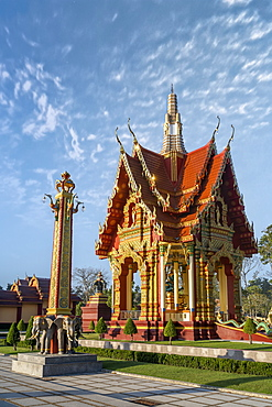 Wat Mahathat Watchiramongkhon (Wat Bang Thong) in Krabi, Thailand, Southeast Asia, Asia