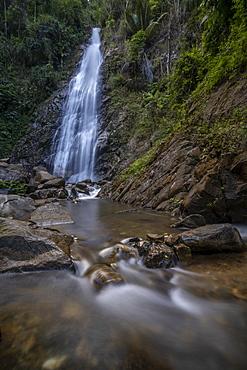 Khun Korn Forest Park Waterfall, Chiang Rai, Northern Thailand, Thailand, Southeast Asia, Asia