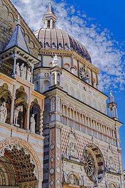 Capella Colleoni, Chapel of Basilica di Santa Maria Maggiore in Piazza Duomo at Citta Alta (Old Town), Bergamo, Lombardy, Italy, Europe
