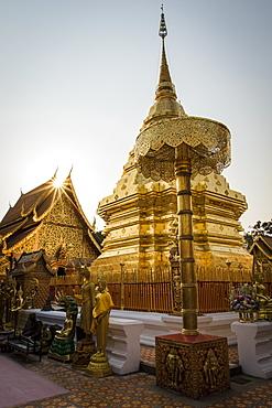 Wat Phrathat Doi Suthep, Chiang Mai, Thailand, Southeast Asia, Asia