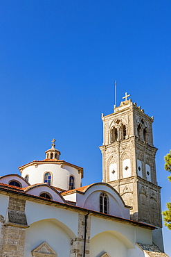 The Holy Cross church in the village of Lefkara, Cyprus, Europe
