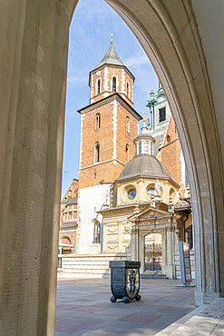 Wawel Cathedral, Wawel Castle, UNESCO World Heritage Site, Krakow, Poland, Europe