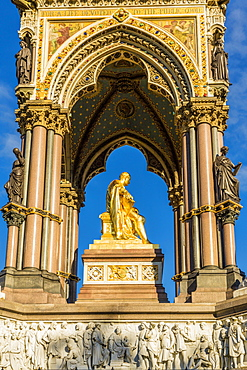The Albert Memorial in Kensington Gardens, London, England, United Kingdom, Europe