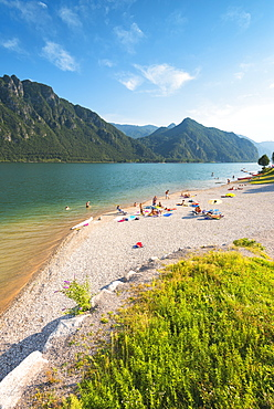 Idro Lake in Sabbia Valley, Brescia province, Lombardy, Italy, Europe