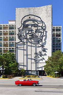 Square of the Revolution, Havana, Cuba, West Indies, Caribbean, Central America