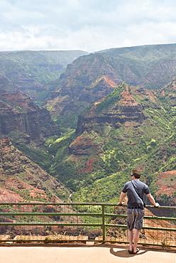 Waimea Canyon, Kauai, Hawaii, United States of America, North America