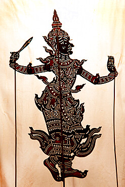 Shadow puppet, Phnom Penh, Cambodia, Indochina, Southeast Asia, Asia