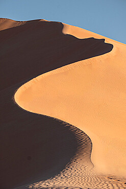 High sand dunes in the Rub al Khali desert, Oman