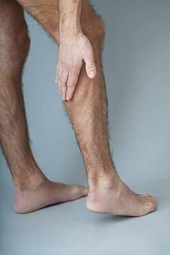 Leg pain in a man