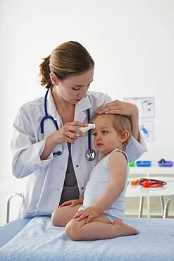 Child in consultation