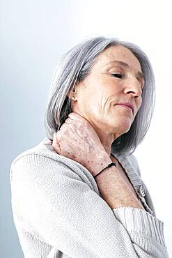 Cervicalgia in an elderly person