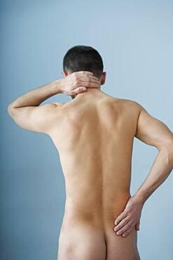 Cervicalgia in a man