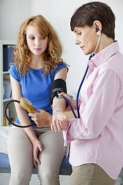 Blood pressure, woman