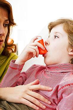 Asthma treatment, child