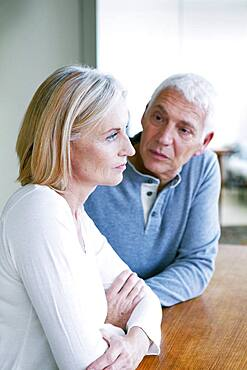 Conflict in an elderly couple