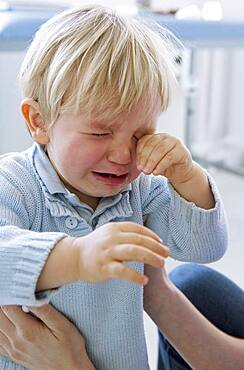 1-3 years old baby crying