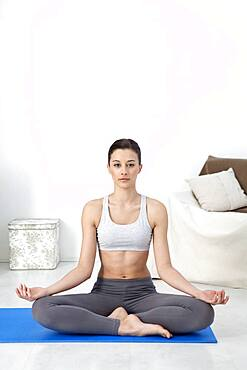 Yoga, woman
